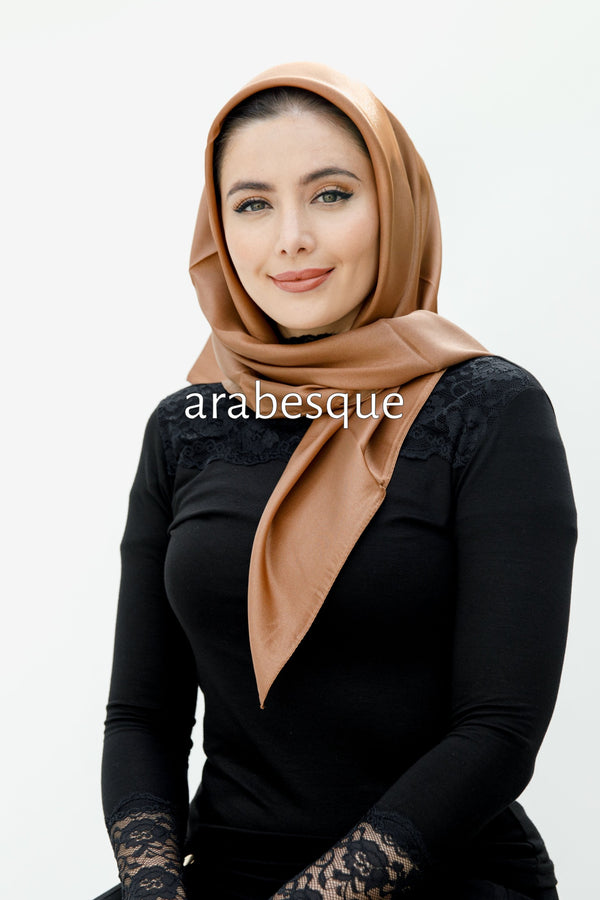 Shimmer Silky Square Hijab