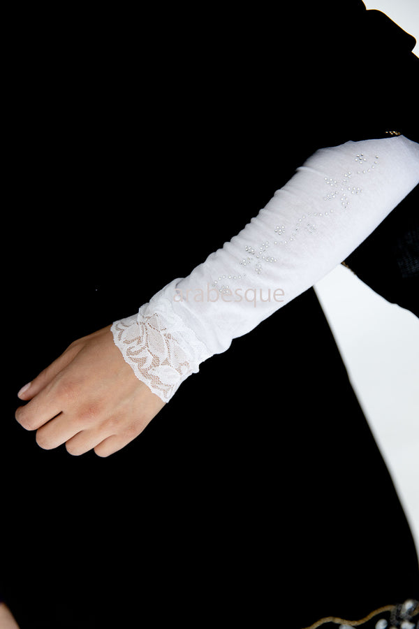 Diamante Sleeves