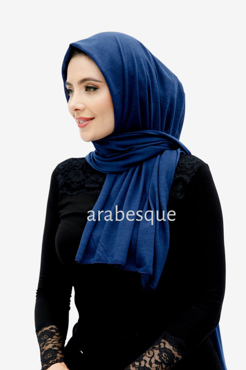 Viscose Jersey HIjab in Navy