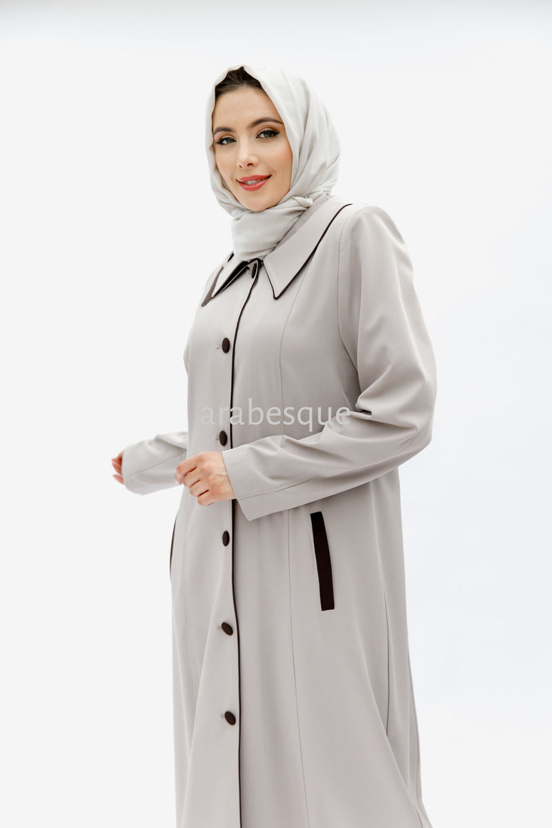 Beige Turkish Coat