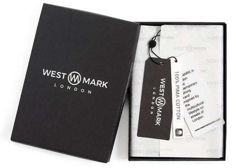WESTMARK LONDON BOX & LABEL, BRAND IDENTITY