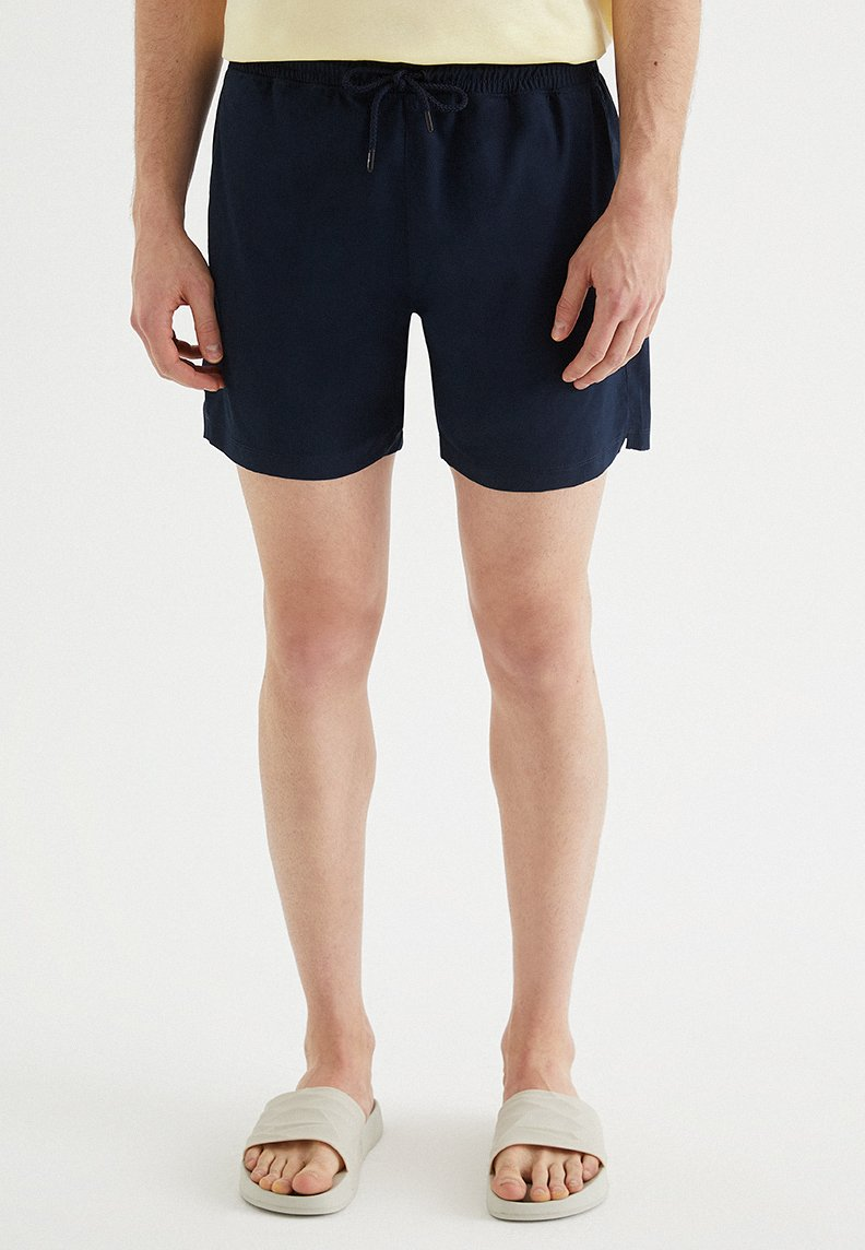 SOLID SWIM SHORTS in Total Eclipse