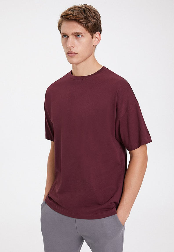 ESSENTIALS OVERSIZED TEE in Port Royale