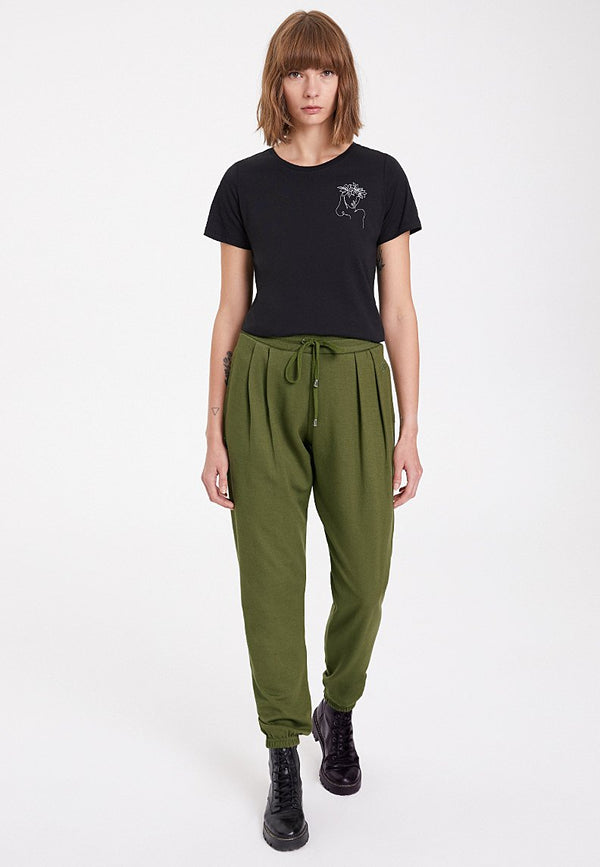 ESSENTIALS CUFFED JOGGER in Capulet Olive