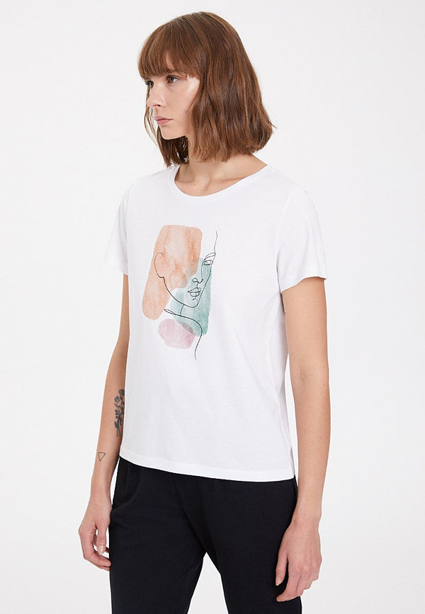 WATERCOLOUR PORTRAIT TEE