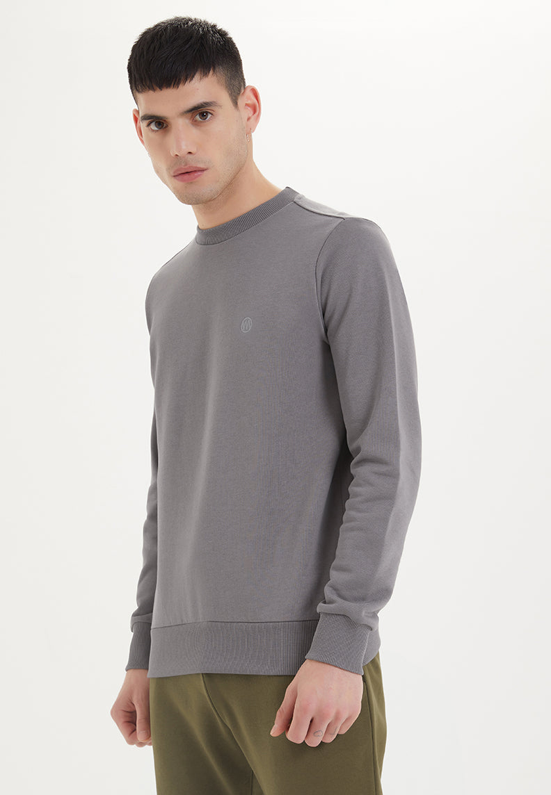ESSENTIALS SWEAT in Charcoal Grey