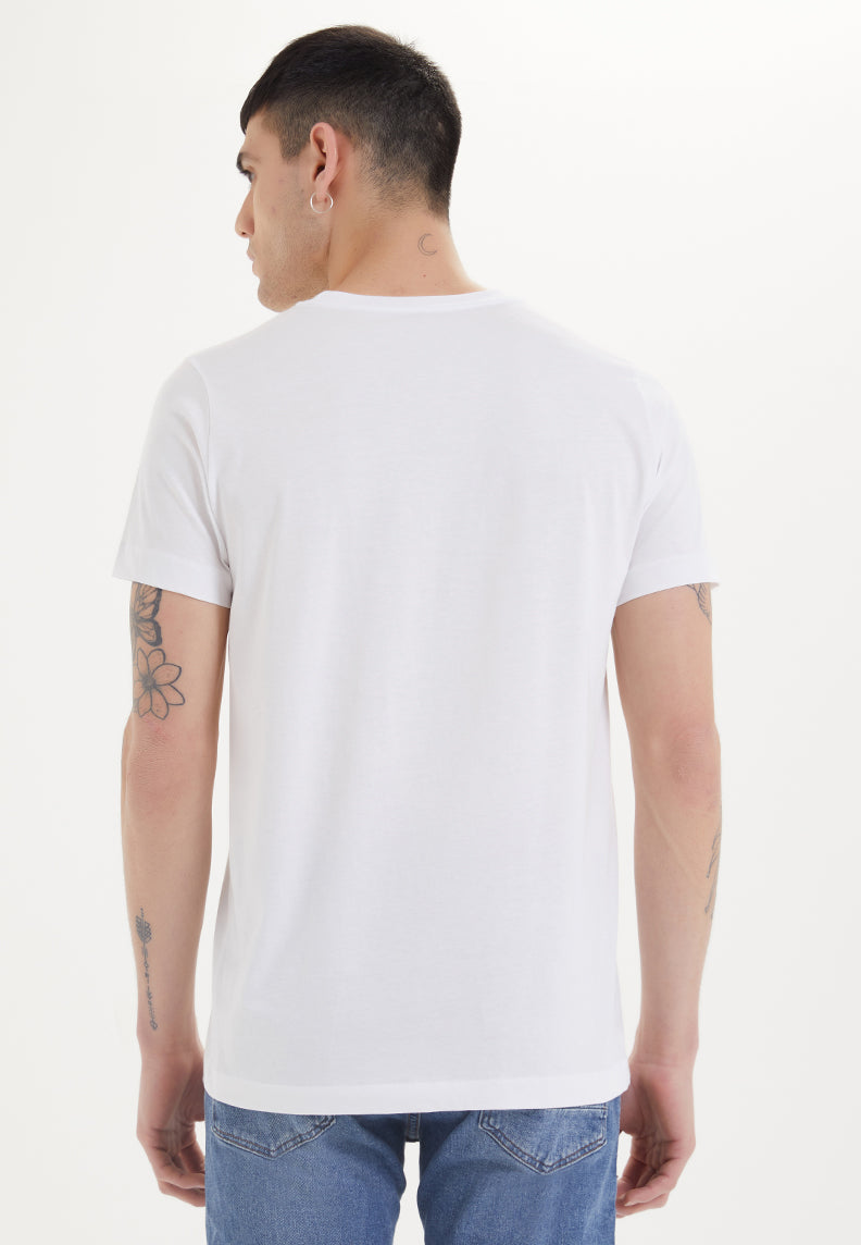 ESSENTIALS O-NECK T-SHIRT in White