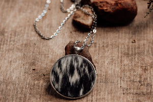Genuine Cowhide Pendant