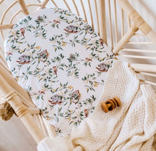 Load image into Gallery viewer, Eucalypt - Bassinet Sheet / Change Pad Cover