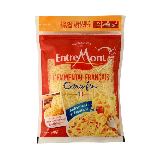 Entremont Grated Emmental Cheese 29% (160g)