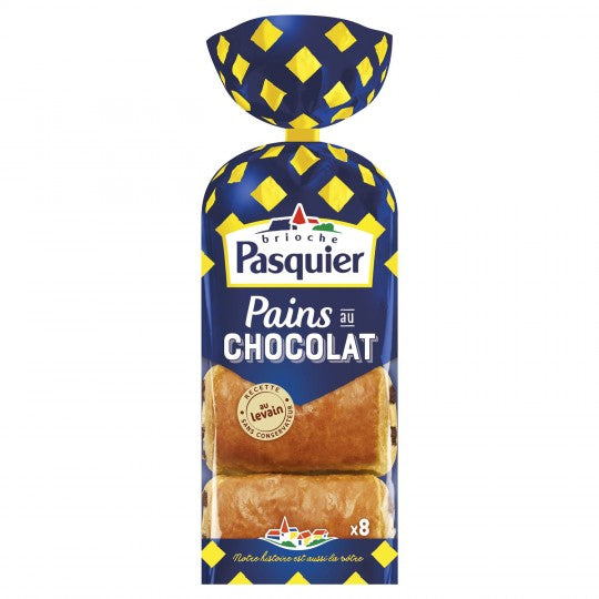 Pasquier Chocolate Bread (x8 Breads - 360g)