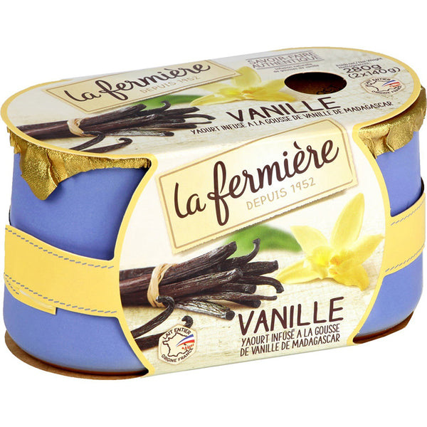 Vanilla Yogurt (2x140g)
