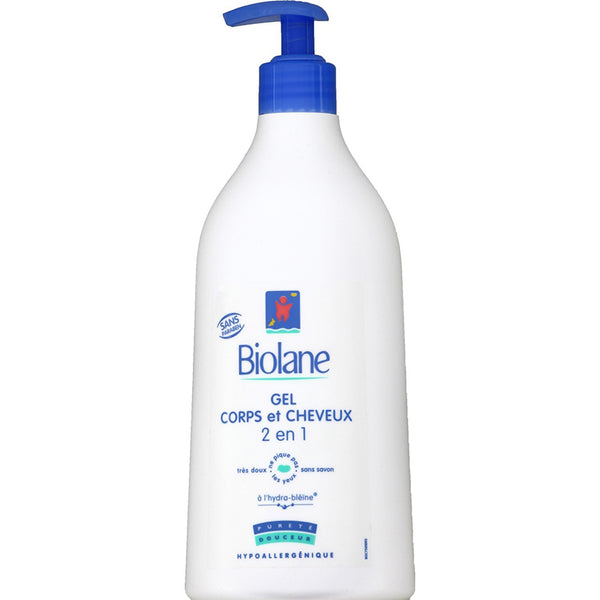 Biolane New 2 in 1 Body and Hair Cleanser (750ml)