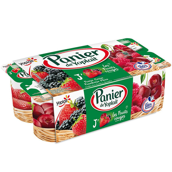 Red Fruits Yogurt (8x130g)