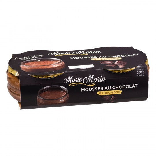 Marie Morin Traditional Chocolate Mousse (2x100g)