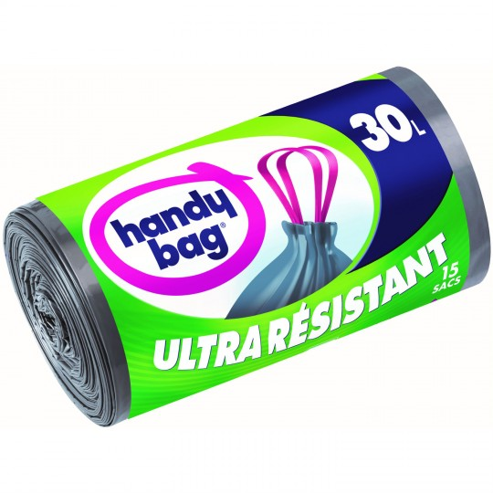 Ultra Resistant Trash Bags 30L (15pcs)
