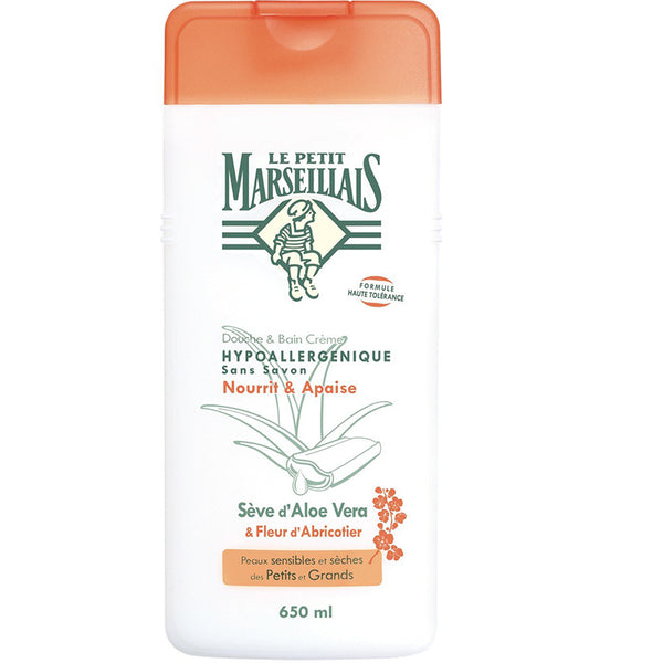 Apricot Flower Shower Gel LE PETIT MARSEILLAIS (650ml)