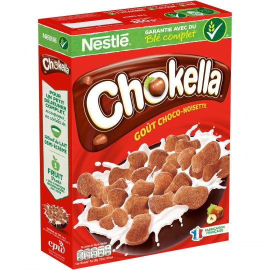 Chokella Chocolate And Hazelnut Flavored Cereals (350g)