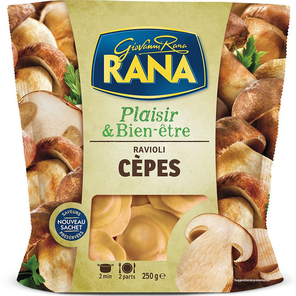 GIOVANNI RANA - Mushrooms Ravioli - 250g