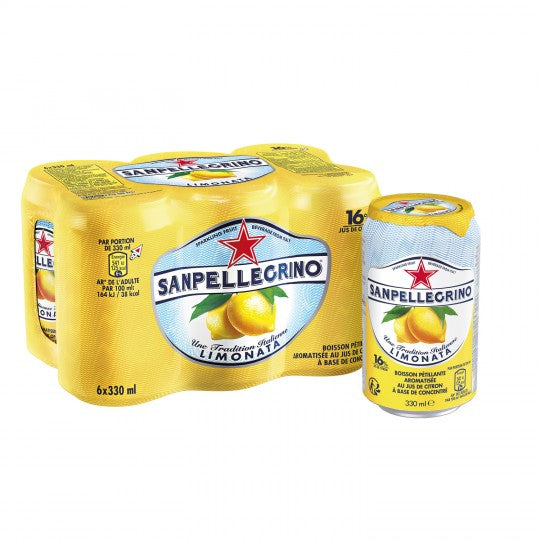 San Pellegrino Lemon Soda (6x330ml)