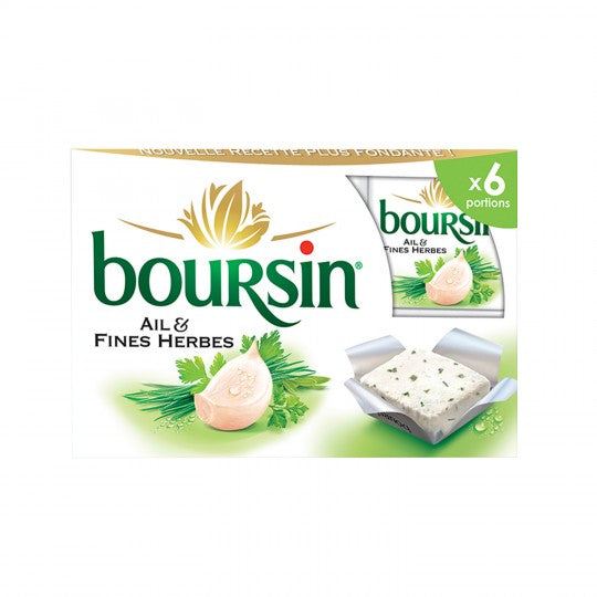 Boursin - Garlic And Herbs Cheese 41%Fat (96g)