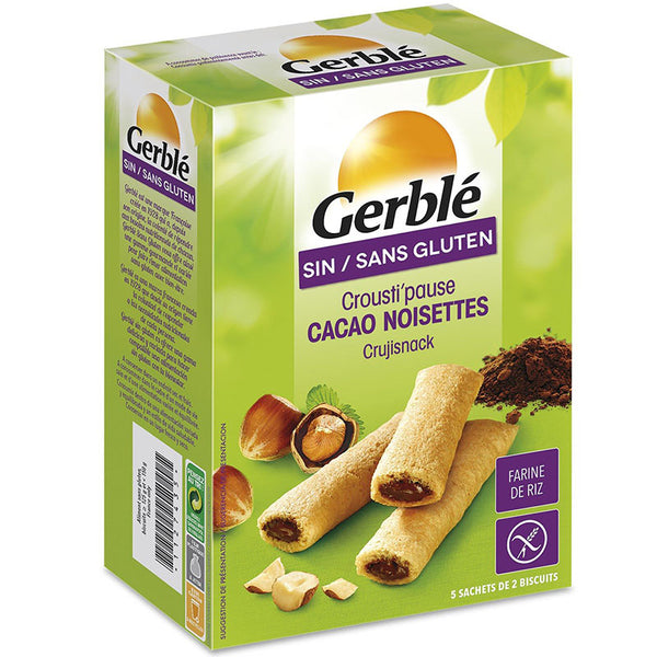GERBLE - Gluten free crispy biscuits 125g
