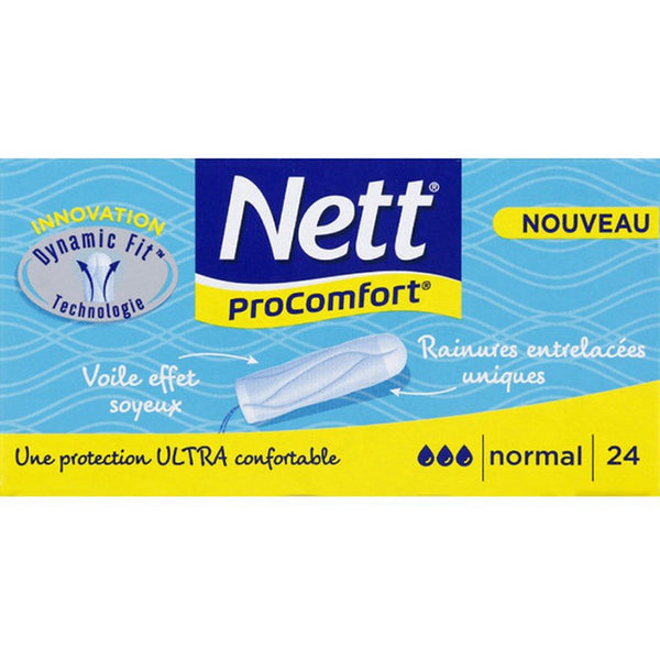 NETT Tampons Procomfort Normal Flow (24 Tampons)