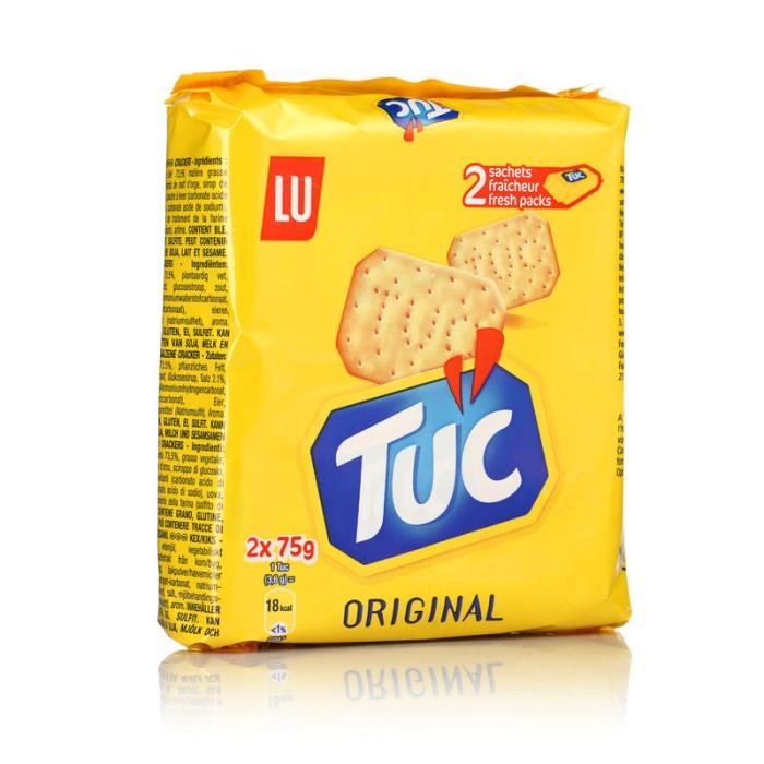 TUC Salty Crackers (2x75g)