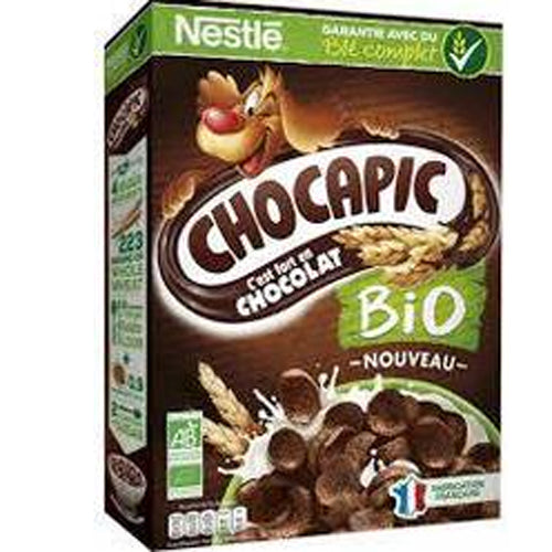 Organic Chocapic Chocolate Cereals (375g)
