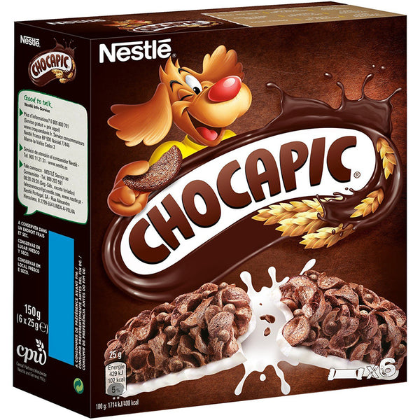 Chocapic Chocolate Cereal Bars (6x25g)