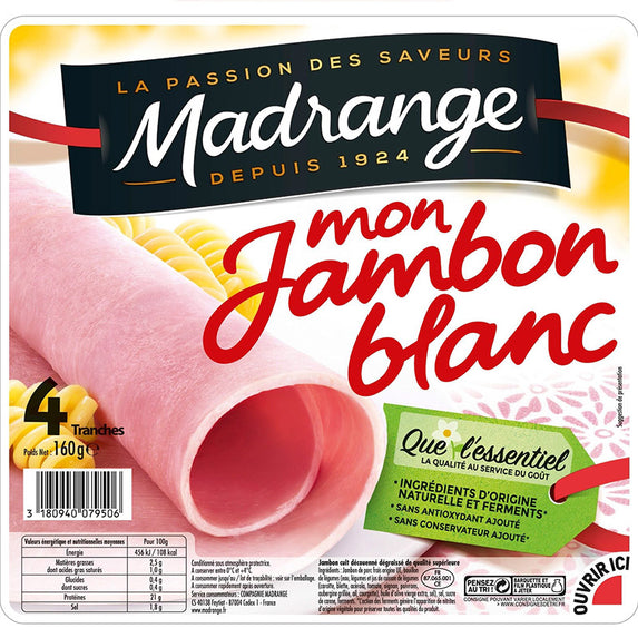 MADRANGE Ham 4 Slices 160g