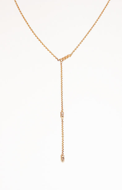 Dorado Lariat Necklace