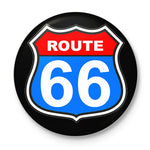 Route 66 Button Badge