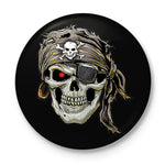 Skull Pirate Button Badge