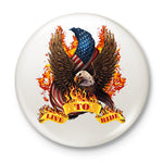 Live To Ride Button Badge