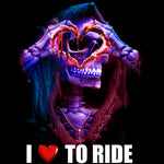 I Love To Ride-Heart