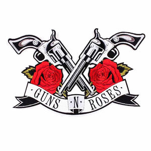 Guns N Roses Back Patch- 11.5 x 6.6 inches