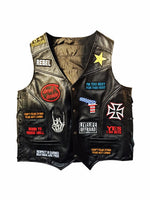 Patched Up Vest- Men 1