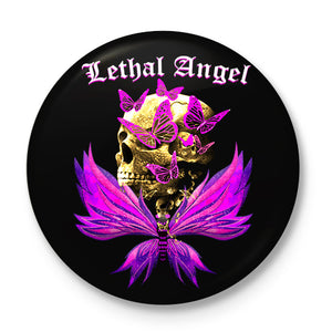 Lethal Angel Button Badge