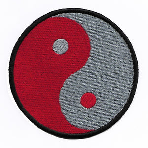 Yin & Yang Patch- 3.6 inches