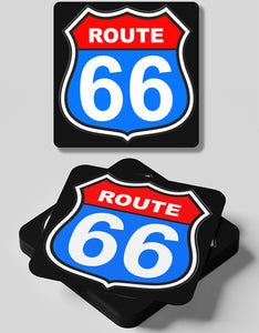 Route 66-4 Coasters Set