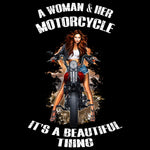 Woman & Motorcycle