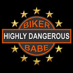 Highly Dangerous Biker Babe
