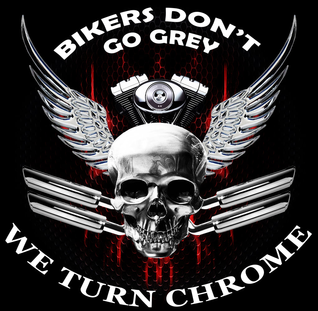Bikers Turn Chrome