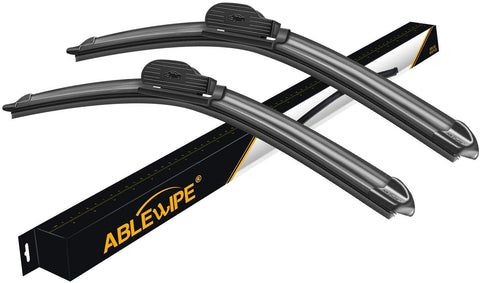 "Windshield Wiper Blades fit for Audi A3 Quattro 2018 26"" + 19""  Wiper Blade (SET of 2)"