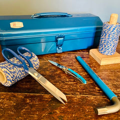 Blue Monday is Tosh - blue can be a positive colour for tools and kit in the garage, garden and workshop