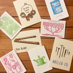 Cards available at Tinker and Fix