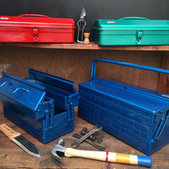 Selection of toolboxes from Trusco available at Tinker and Fix