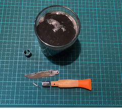 Customising an Opinel Penknife - a Tinker and Fix project