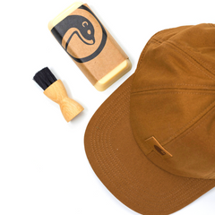 Otter Wax and Carhartt - from Tinker and Fix - how to Waterproof a hat